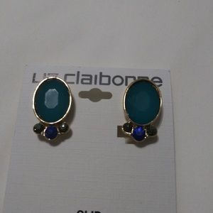 Liz Claiborne clip on earrings